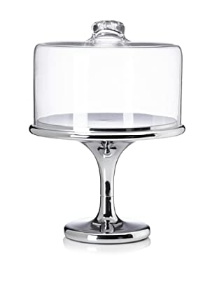 Home Essentials Maison Stainless Cake Stand with Dome
