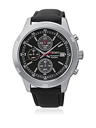 Seiko Reloj con movimiento cuarzo japonés SKS421P2 Negro 43  mm