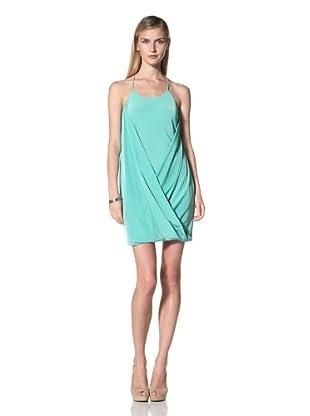 Poleci Women's Folded Hem Dress (Jade)
