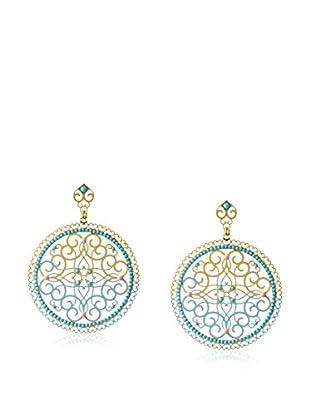 LK Designs Turquoise Eastern Earrings
