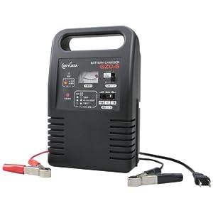 Amazon.co.jp | GS-YUASA (ジーエスユアサ) バッテリー小型充電器 バイク用(12V 2.3~10Ah) 自動車用 (12V 21~48Ah) オートタイマー ブースト機能搭載 GZC-5 | 車&バイク