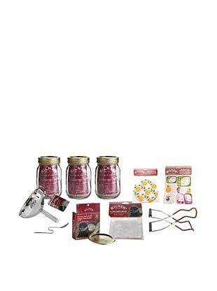 Kilner Set of 3 Canning Preserve Jars (Fruit Blossom)