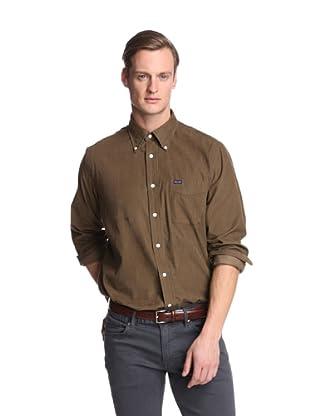 Façonnable Men's Corduroy Shirt (Olive)