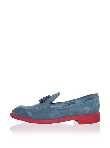Swear Women's Vienetta 8 Tassel Loafer (Blue)
