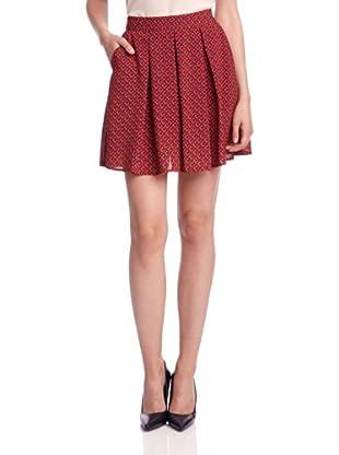 Louche Mini Falda (Rojo)