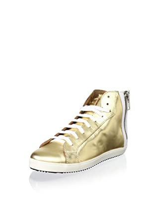 Pour La Victoire Women's Heydi Fashion Sneaker (Gold Metallic)