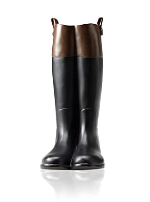 Old World Estate Hayford Riding Boot Vase (Brown/Black)