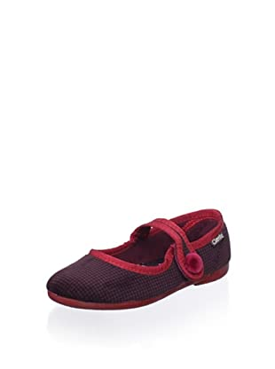 Cienta Kid's Slipper (Burgundy)