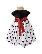 Faye Classic Polka Splendour Dress