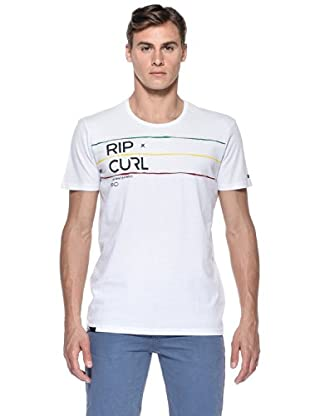 Rip Curl T-Shirt Inspired S/S Tee (Bianco)