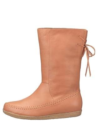flip*flop 20501 - Botas de cuero para mujer (Natural)