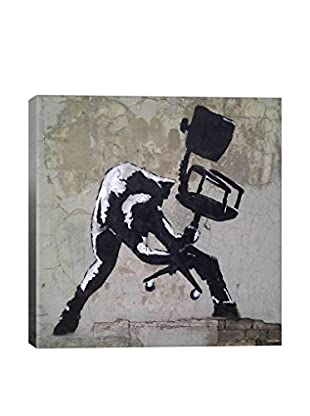 Banksy London Calling Gallery Wrapped Canvas Print