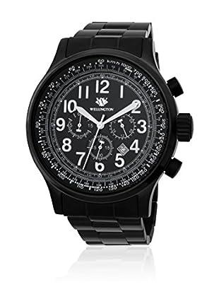 Wellington Chronograph  schwarz 47  mm