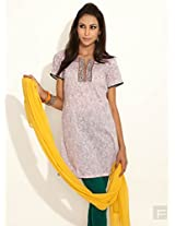 Time-Honored Ethnic Cotton Kurta -Pink-Xl