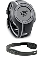 Garmin Forerunner 110 GPS-Enabled Sport Watch with Heart Rate Monitor (Black)