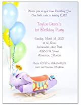 Birthday Time 1st Birthday Invitations Set Of 20