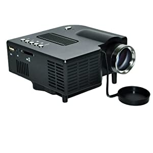 WMicro Mini LED Cinema Theater Projector