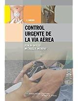 Manual para el Control Urgente de la Via Aerea