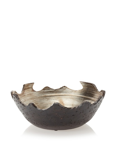 Mercana Décor Ceila Bowl (Black/Semi-Metallic)