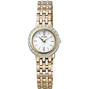【クリックでお店のこの商品のページへ】[シチズン]CITIZEN 腕時計 Citizen Collection シチズン コレクション Eco-Drive エコ・ドライブ ラウンド EW9572-54A レディース