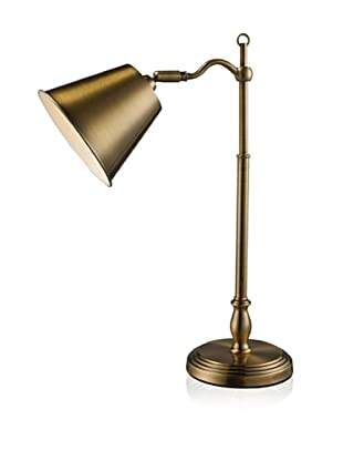 Artistic Lighting Hamilton Desk Lamp, Antique Brass