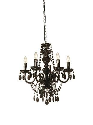 Contemporary Lighting Lámpara De Araña Jewel Negro