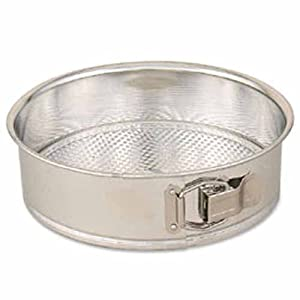 Winco Spring Form Cake Pan with Loose Bottom, 8-Inch