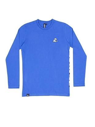 El Niño Camiseta Manga Larga Vendado (azul ultramarino)