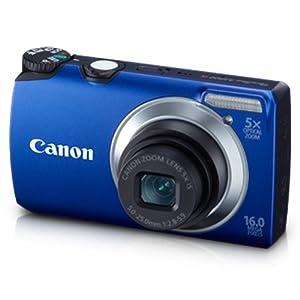 Canon PowerShot A3300 Digital Camera-Blue