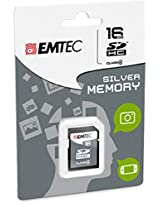 EMTEC 16 GB Class 4 Jumbo Super SDHC Memory Card