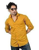 Redox Slim Fit Shirt [5031-2-05_Yellow_XXL]