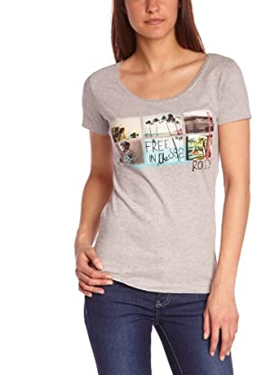 Roxy Camiseta Good Looking (Gris)