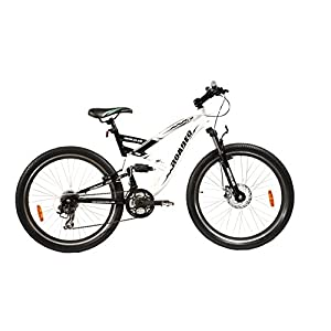 Hercules Roadeo A 300 White Black Bicycle