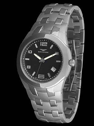 Sandoz 71547-06 - Reloj Col. Diver caja redonda negro