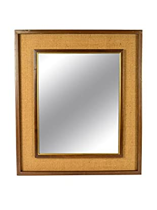 Uptown Down Previously Owned Wood-Framed Mirror