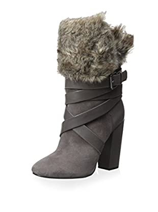 Pour La Victoire Women's Bionda Fold Over Faux Fur Ankle Boot