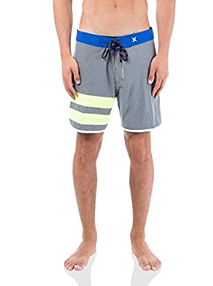 Hurley Boxer da Bagno Phantom Block Party Heather