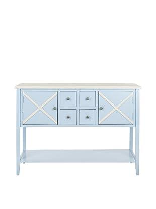 Safavieh Adrienne Sideboard, Light Blue/White