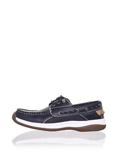 Sebago Men's Helmsman Boat Shoe (Navy)