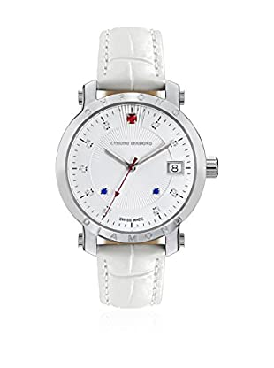 Chrono Diamond Reloj de cuarzo Woman Blanco