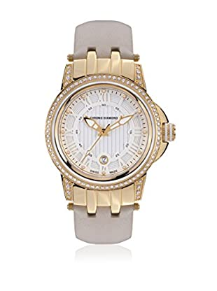 Chrono Diamond Quarzuhr Woman beige