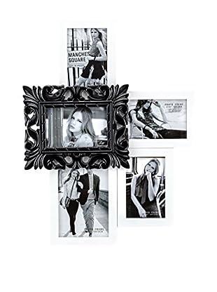 Contemporary Living Marco De Fotos Kaos Blanco/Negro