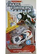 Transformers Prime Wheeljack Exclusive DVD