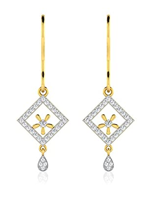 Jewellery of India Pendientes Yellow Gold
