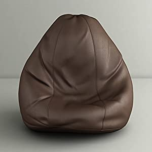 Style Homez Chocolate Brown Classic Bean Bag