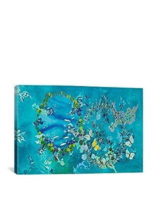 Lia Porto Gallery ¿Agua O Aire? Canvas Print