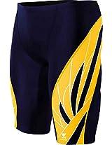 TYR Durafast Elite 300 Plus Phoenix Splice Jammer, Size 38 (Navy/Gold)