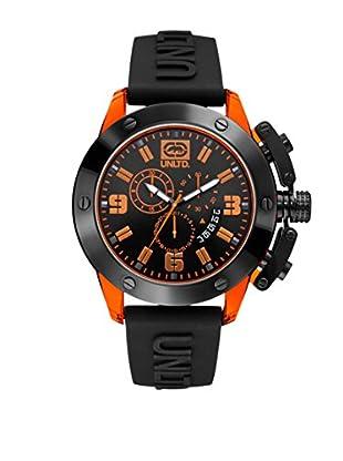 Marc Ecko Reloj The Tran Negro / Naranja