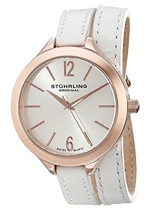 Stührling Uhr mit Schweizer Quarzuhrwerk Deauville Sport weiß 38 mm