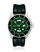 Fastrack Black Magic Analog Green Dial Men's Watch - NE3089SL03